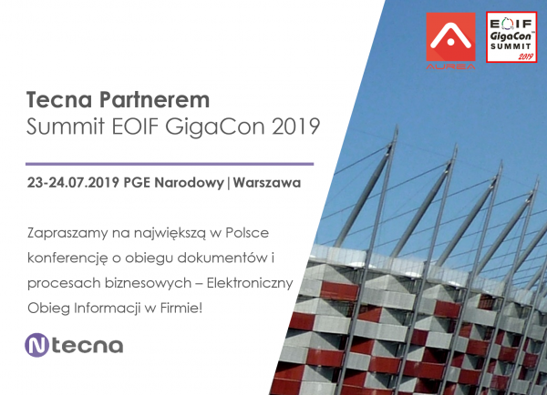 Tecna Partnerem Summit EOIF GigaCon 2019
